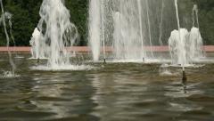 fountain closeup 06 - stock footage