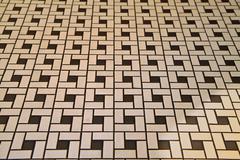 Deco style tile floor Stock Photos