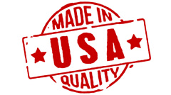 Red Rubber Stamp Made In USA Stock Footage