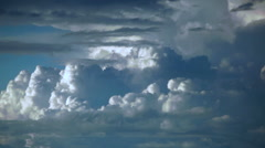 Where Storms Are Born, Extremely Awesome Cloudscape Time Lapse Stock Footage