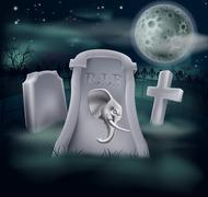 Death of Republican Party Concept - stock illustration