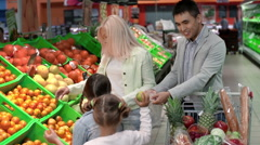 Jubilant Shoppers Stock Footage