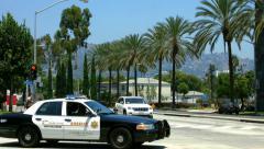 Beverly Hills, Los Angeles California, BlackMagic 4K Production Camera Stock Footage