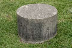 Stool concrete stone Stock Photos