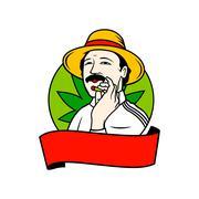 Drug baron Stock Illustration