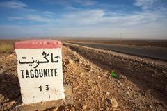 Tagounite 13 km - stock photo