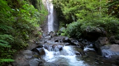 Waterfall in Indonesia, Java Stock Footage