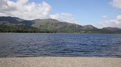 Coniston lake The Lakes National Park England uk Stock Footage