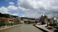 Guggenheim Bilbao Stock Footage