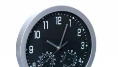 Clock Fast Time Accelerated 01 4k Stock Footage