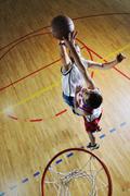Pelaa koripalloa peli Kuvituskuvat