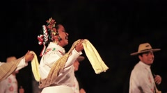 Folkloric dance Stock Footage