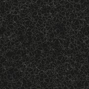 Seamless monochrome pattern with flowers Stock Illustration