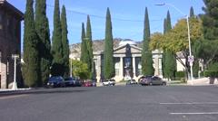 The old courthouse in Kingman, AZ Stock Footage