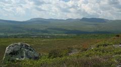 Grovelsjon mountain station, distant view Stock Footage