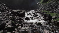 Waterfall, river, tilt Stock Footage