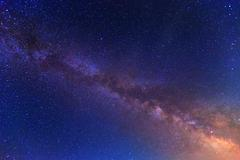 view to milky way galaxy - stock photo