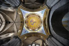 Dome of the Church of the Holy Sepulchre - stock photo