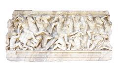 Ancient bas-relief Stock Photos