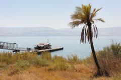 The Sea of Galilee Stock Photos