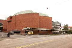 House of culture in helsinki Stock Photos