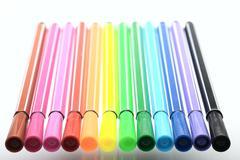 felt pen, isolated - stock photo