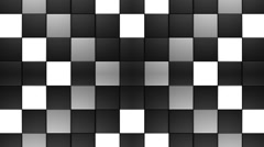 Matte Squares Pattern VJ Loop 3 Stock Footage