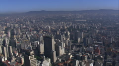 Aerial Brazil- Greater So Paulo views, So Paulo, Stock Footage