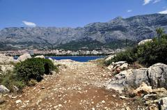 Makarska - stock photo