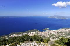 City Makarska Stock Photos