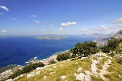 city Makarska - stock photo