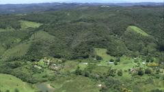 Aerial Brazil- Parque Estadual do Jurupara, Juquitiba, Stock Footage