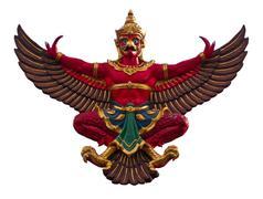 The Garuda in Thailand Stock Photos