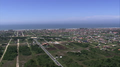Aerial Brazil- Ilha Comprida, Ilha Comprida, Stock Footage