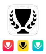 Trophy and awards icon. Stock Illustration