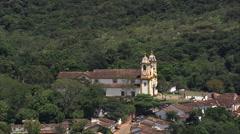 Aerial Brazil-  Tiradentes, Brazil Stock Footage