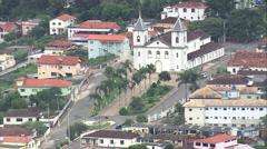 Aerial Brazil- Lagoa Dourada, Lagoa Dourada, Stock Footage