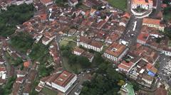 Aerial Brazil- Ouro Preto, Ouro Preto, Stock Footage