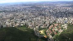 Aerial Brazil- Belo Horizonte, Belo Horizonte, Stock Footage