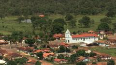 Aerial Brazil- Olhos d'Agua do Oeste, Joo Pinheiro, - stock footage