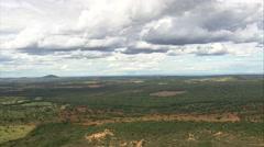 Aerial Brazil- Minas Gerais landscape, Minas Gerais, Stock Footage