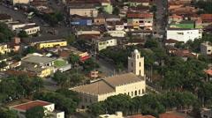 Aerial Brazil- Paraopeba, Paraopeba, Stock Footage