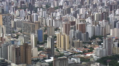 Aerial Brazil- Passing over Pampulha, Belo Horizonte, Stock Footage