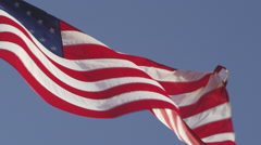 United States of America Flag 4K Stock Video Footage - stock footage