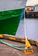 mooring - stock photo
