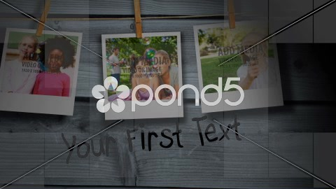 After Effects Project - Pond5 Hanging Polaroid Display AE Version 5 4022516 ...