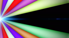 Disco Abstract Colorful Waves 6 Stock Footage