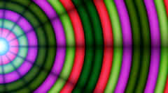 Disco Abstract Colorful Waves 8 Stock Footage