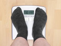 Too fat Stock Photos