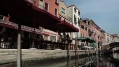 People walking in Venice Stock Footage